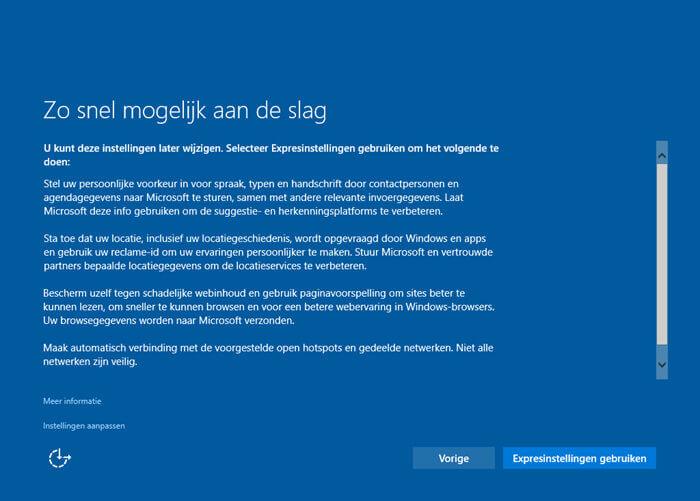 Windows Zo snel mogelijk aan de slag