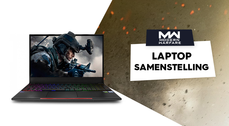 Call of Duty: Modern Warfare Gaming Laptop samenstelling