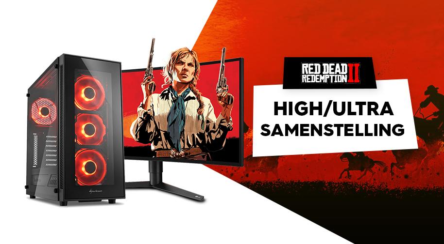 Red Dead Redemption 2 - High Game PC samenstelling