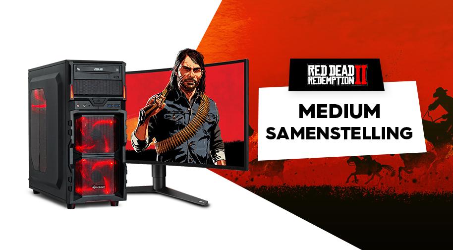 Red Dead Redemption 2 - Medium Game PC samenstelling