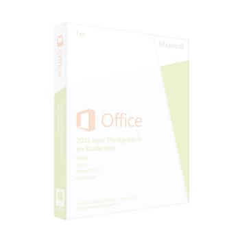 Geen Office pakket
