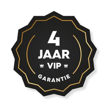 4 jaar VIP Garantie