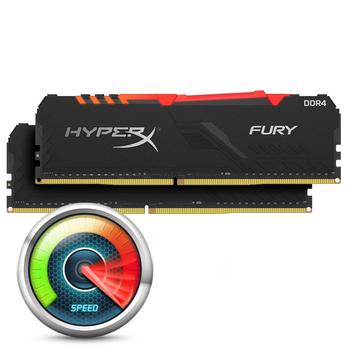 Kingston HyperX Fury RGB 16GB DDR4-3200