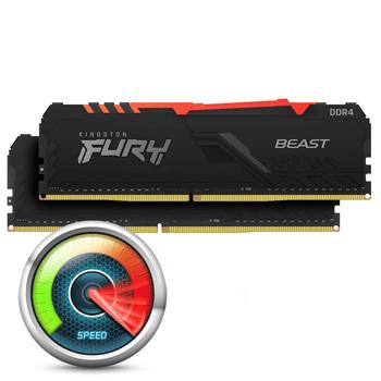Kingston Fury Beast RGB 64GB DDR4-3200