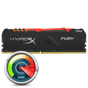 Kingston HyperX Fury RGB 8GB DDR4-3200