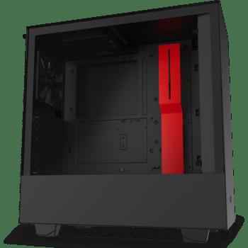 NZXT H511 - Zwart/Rood